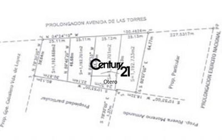 Foto de terreno comercial en venta en  , del solar, ju?rez, chihuahua, 1180769 No. 02