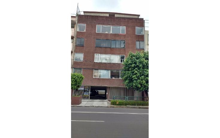 Foto de departamento en renta en  , del valle centro, benito ju?rez, distrito federal, 2044599 No. 01