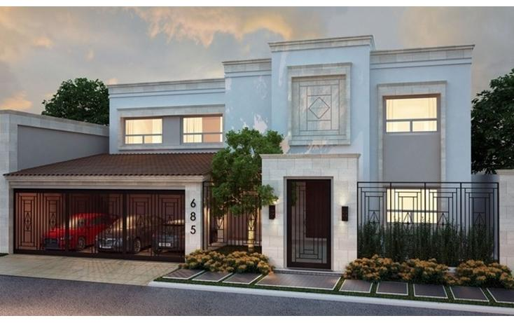 Foto de casa en venta en  , del valle, san pedro garza garcía, nuevo león, 807453 No. 01