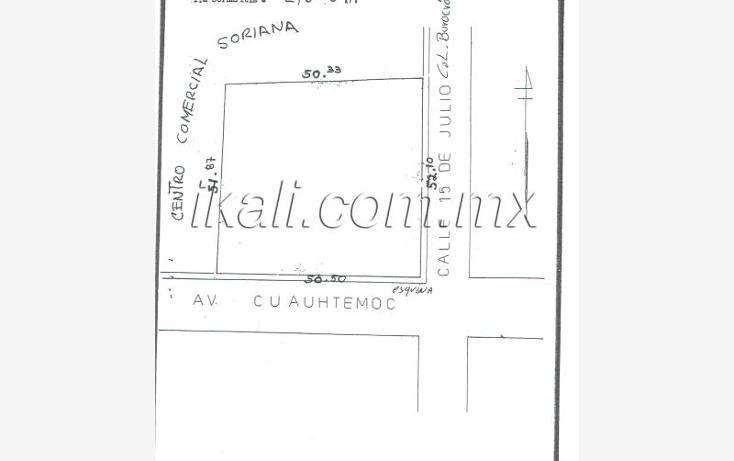 Foto de terreno comercial en venta en  , del valle, tuxpan, veracruz de ignacio de la llave, 961445 No. 14