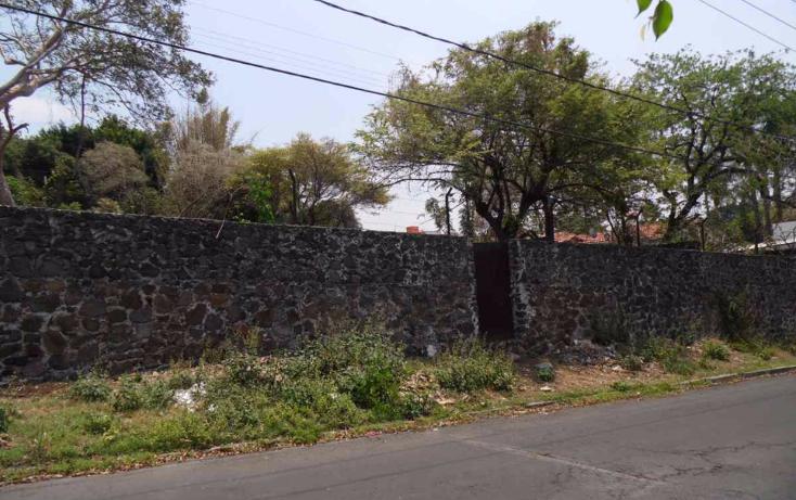 Foto de terreno habitacional en venta en  , delicias, cuernavaca, morelos, 1137821 No. 01