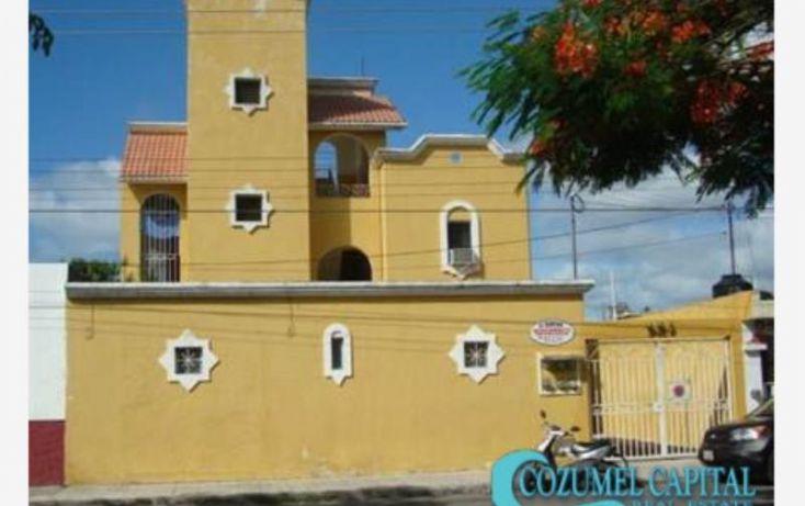 Foto de edificio en venta en departamentos deportiva 11 avenida, av andres quintana roo, 11 av, adolfo l mateos, cozumel, quintana roo, 1155381 no 01