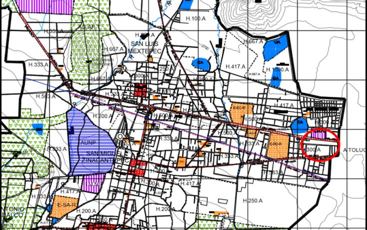 Foto de terreno comercial en venta en, deportiva, zinacantepec, estado de méxico, 939129 no 04