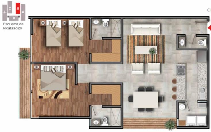 Foto de departamento en venta en  , desarrollo habitacional zibata, el marqu?s, quer?taro, 1726540 No. 06