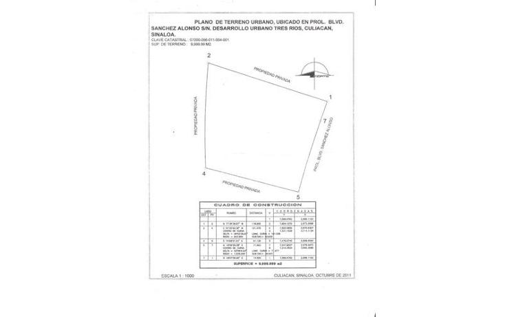 Foto de terreno habitacional en venta en  , desarrollo urbano 3 ríos, culiacán, sinaloa, 1066875 No. 03