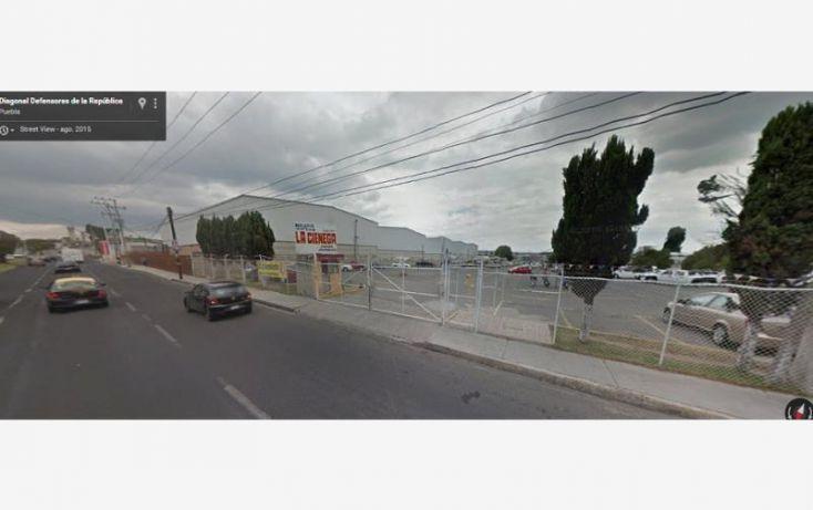 Foto de terreno comercial en venta en diagonal defensores de la republica 1116, rementeria, puebla, puebla, 1907210 no 01