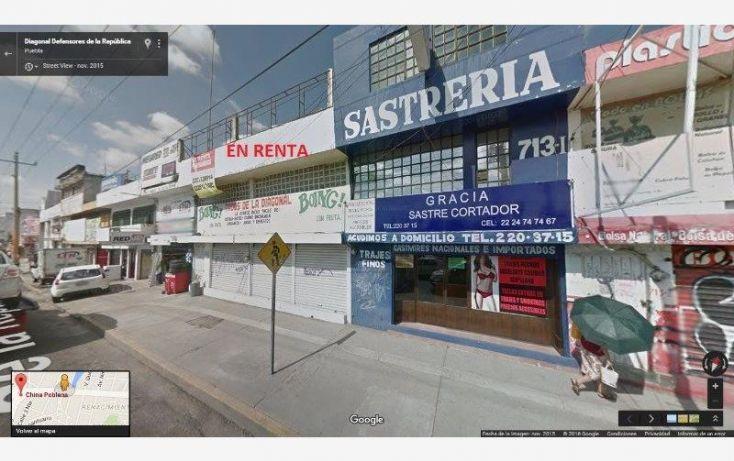 Foto de local en renta en diagonal defensores de la republica 713, cuauhtémoc, puebla, puebla, 1709270 no 01