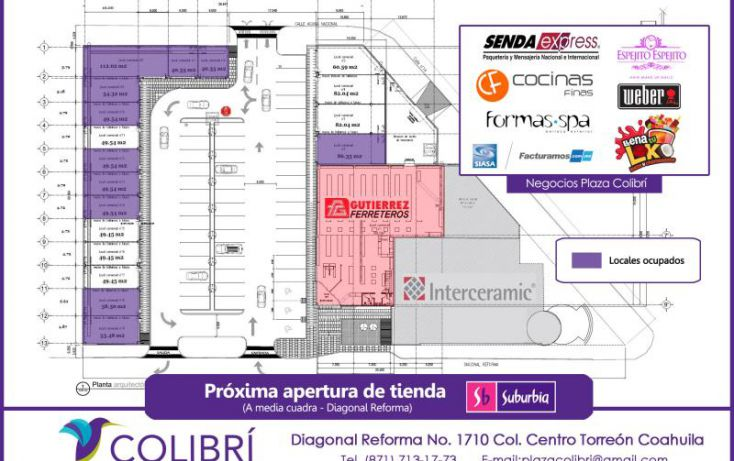 Foto de local en renta en diagonal reforma 100, torreón centro, torreón, coahuila de zaragoza, 1371663 no 01