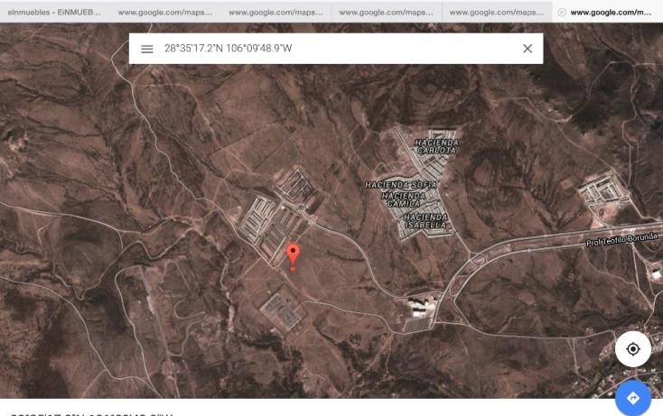 Foto de terreno habitacional en venta en, diamante reliz, chihuahua, chihuahua, 814349 no 02