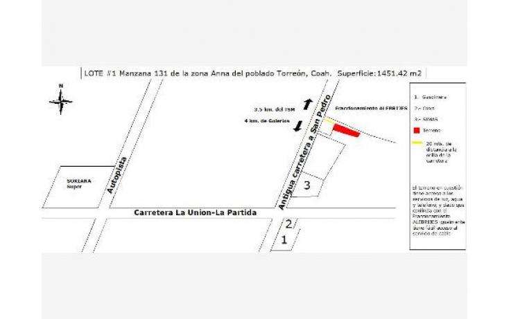 Foto de terreno industrial en venta en, diana, torreón, coahuila de zaragoza, 619172 no 01