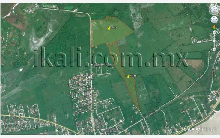 Foto de terreno habitacional en venta en diaz miron, dante delgado, tuxpan, veracruz, 628498 no 02