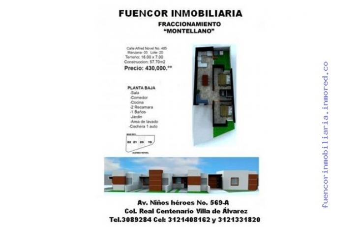 Foto de casa en venta en diaz miron y o cuarta 8146, puerta de hierro, villa de álvarez, colima, 483476 no 01