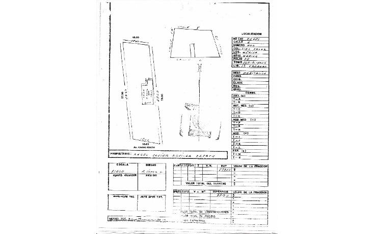 Foto de terreno comercial en venta en  , diaz ordaz, m?rida, yucat?n, 1749888 No. 02