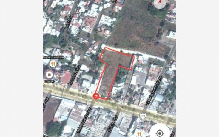 Foto de terreno comercial en venta en doctor belisario dominguez 828, penipak norte, tuxtla gutiérrez, chiapas, 1471739 no 01