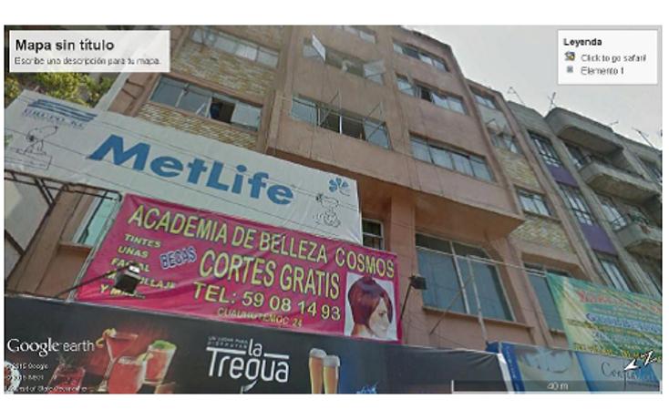 Foto de edificio en venta en  , doctores, cuauht?moc, distrito federal, 1626641 No. 01