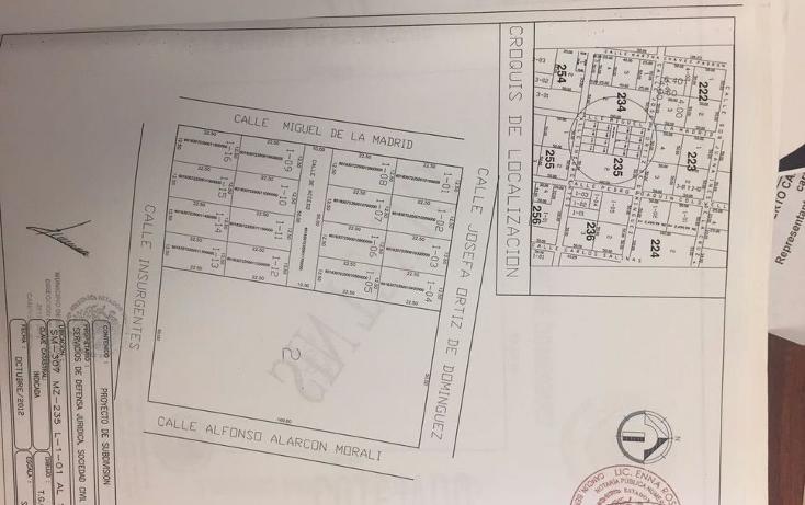 Foto de terreno habitacional en venta en  , doctores ii, benito juárez, quintana roo, 1375877 No. 03