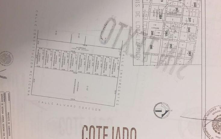 Foto de terreno habitacional en venta en  , doctores ii, benito juárez, quintana roo, 1375877 No. 04