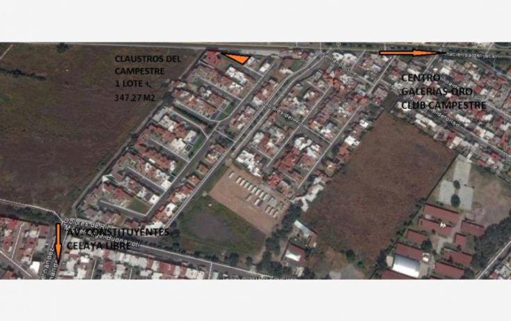 Foto de terreno habitacional en venta en dolores del rio 202 b, claustros del campestre, corregidora, querétaro, 1467029 no 01