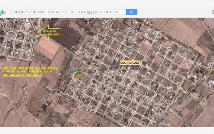 Foto de terreno habitacional en venta en dom conocido, hidalgo, durango, durango, 394482 no 02