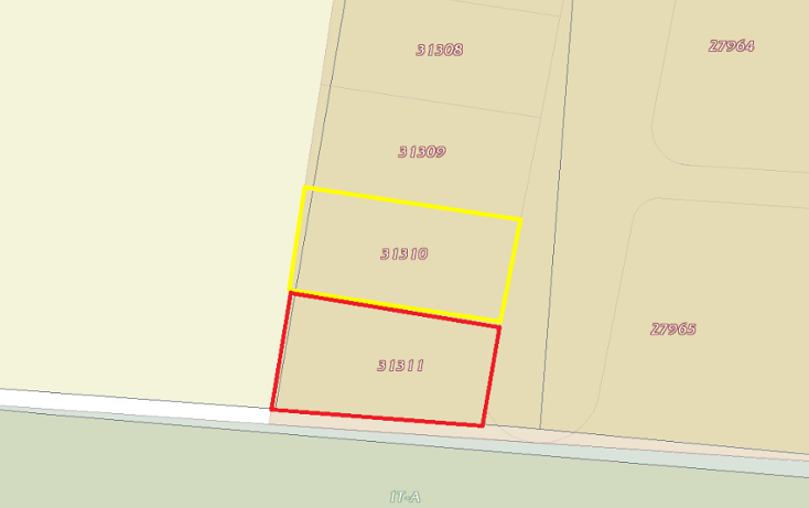 Foto de terreno habitacional en venta en  , dzibilchalt?n, m?rida, yucat?n, 1983600 No. 02
