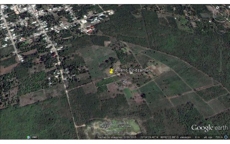 Foto de terreno habitacional en venta en  , dzidzantun, dzidzantún, yucatán, 1145685 No. 03