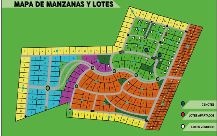 Foto de terreno habitacional en venta en  , dzidzantun, dzidzantún, yucatán, 1599210 No. 01
