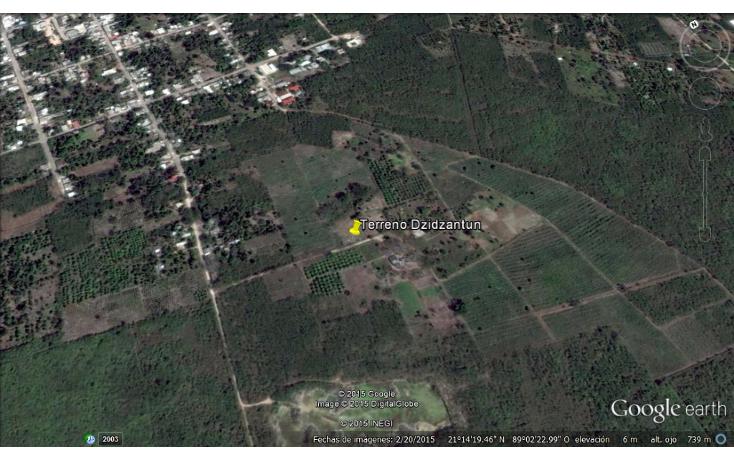 Foto de terreno comercial en venta en  , dzidzantun, dzidzantún, yucatán, 1719050 No. 01