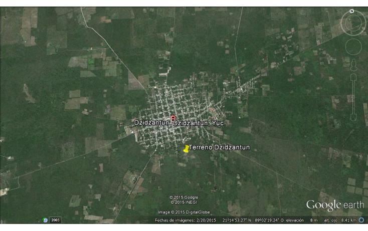Foto de terreno comercial en venta en  , dzidzantun, dzidzantún, yucatán, 1719050 No. 02