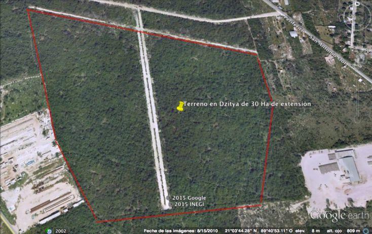 Foto de terreno habitacional en venta en, dzitya, mérida, yucatán, 1039171 no 01
