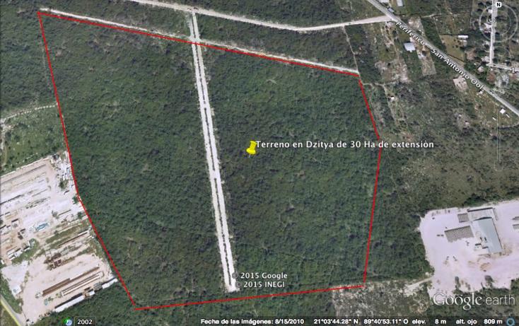 Foto de terreno habitacional en venta en  , dzitya, mérida, yucatán, 1039171 No. 01