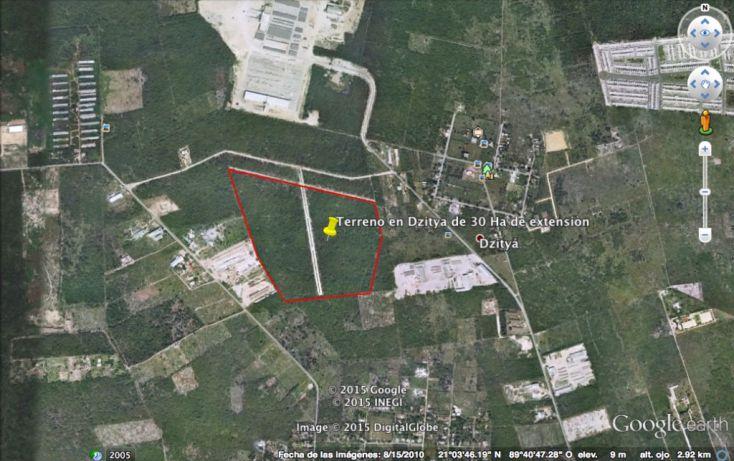 Foto de terreno habitacional en venta en, dzitya, mérida, yucatán, 1039171 no 02