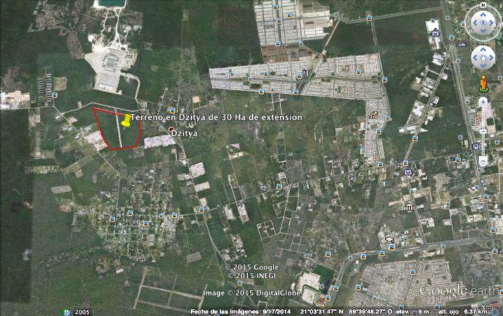 Foto de terreno habitacional en venta en, dzitya, mérida, yucatán, 1039171 no 03