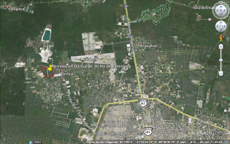 Foto de terreno habitacional en venta en, dzitya, mérida, yucatán, 1039171 no 04