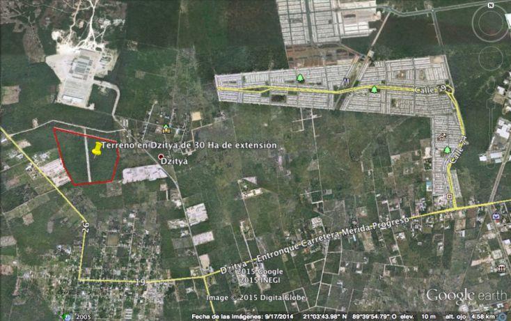 Foto de terreno habitacional en venta en, dzitya, mérida, yucatán, 1039171 no 05