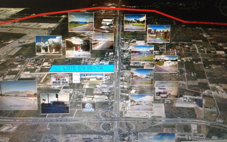 Foto de terreno comercial en renta en  , dzitya, mérida, yucatán, 1053925 No. 01