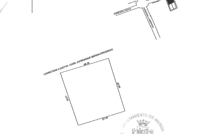 Foto de terreno comercial en venta en  , dzitya, mérida, yucatán, 1062831 No. 01