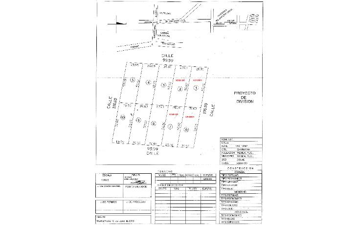 Foto de terreno habitacional en venta en  , dzitya, mérida, yucatán, 1066683 No. 01