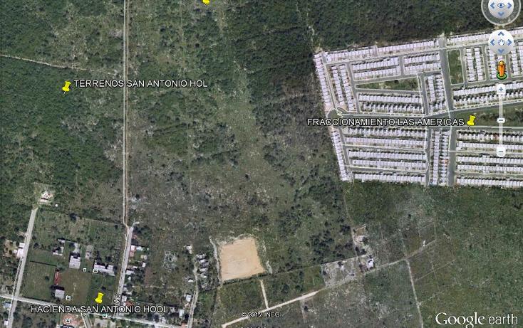 Foto de terreno habitacional en venta en  , dzitya, mérida, yucatán, 1066683 No. 02