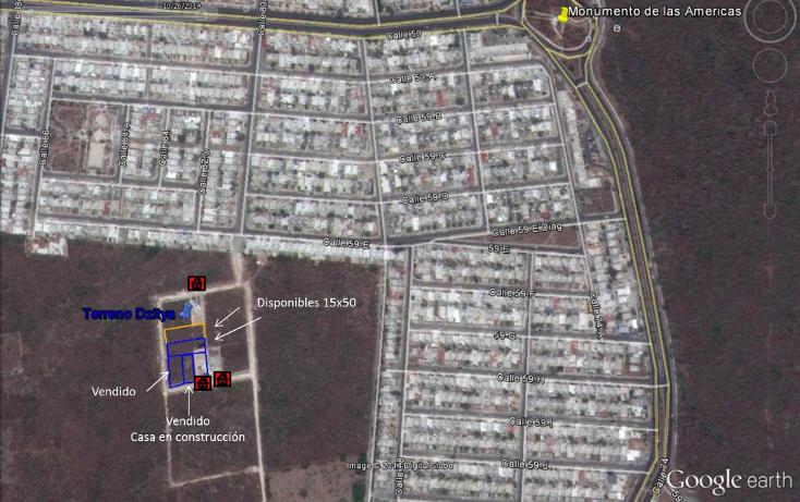Foto de terreno habitacional en venta en, dzitya, mérida, yucatán, 1071777 no 01