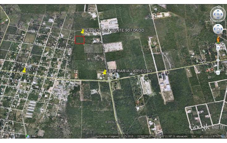 Foto de terreno comercial en venta en  , dzitya, mérida, yucatán, 1073025 No. 01