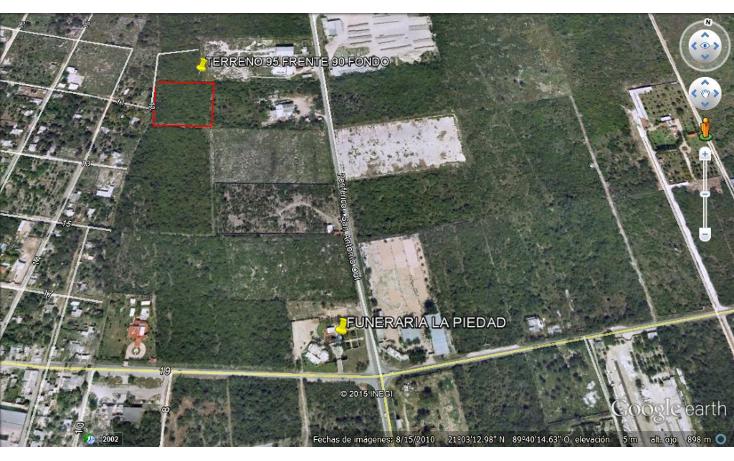Foto de terreno comercial en venta en  , dzitya, mérida, yucatán, 1073025 No. 03