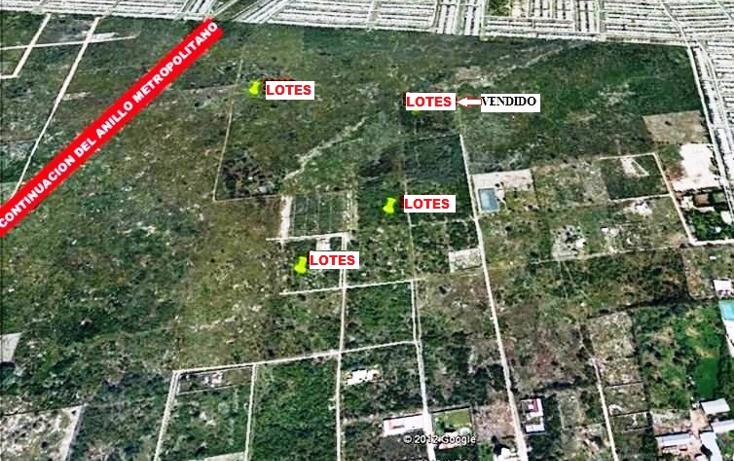 Foto de terreno habitacional en venta en  , dzitya, mérida, yucatán, 1098299 No. 01