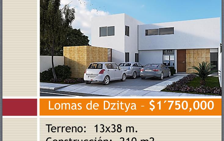Foto de casa en venta en  , dzitya, mérida, yucatán, 1107701 No. 01