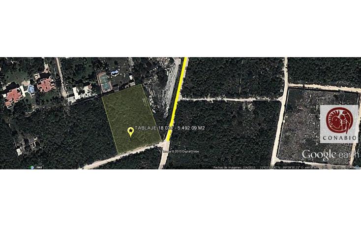 Foto de terreno habitacional en venta en  , dzitya, mérida, yucatán, 1110137 No. 02