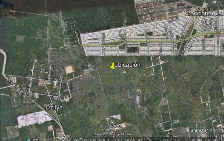Foto de terreno habitacional en venta en, dzitya, mérida, yucatán, 1112137 no 02