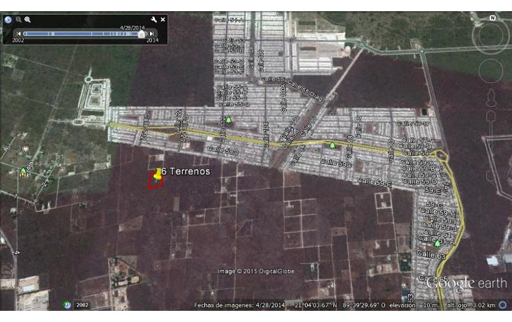Foto de terreno habitacional en venta en  , dzitya, mérida, yucatán, 1115417 No. 01