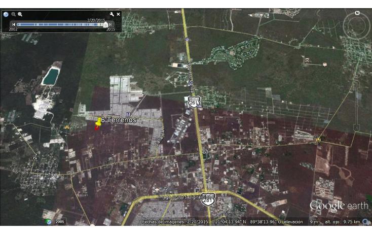 Foto de terreno habitacional en venta en  , dzitya, mérida, yucatán, 1115417 No. 03