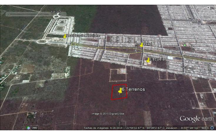 Foto de terreno habitacional en venta en  , dzitya, mérida, yucatán, 1115417 No. 04