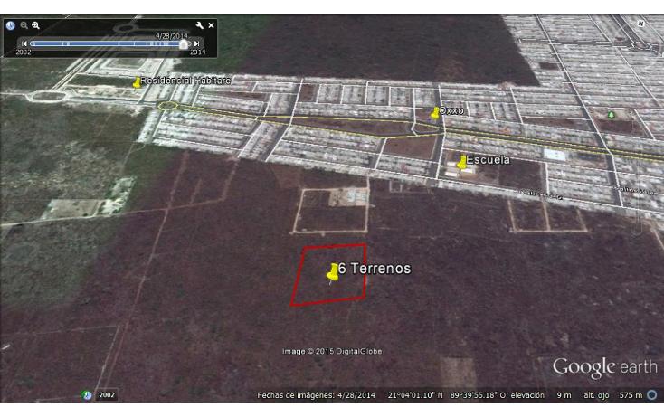 Foto de terreno habitacional en venta en  , dzitya, mérida, yucatán, 1115417 No. 05