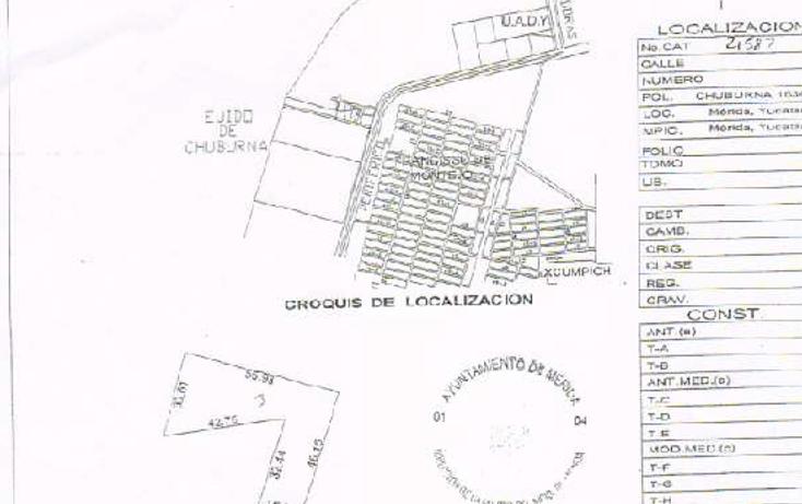 Foto de terreno habitacional en venta en  , dzitya, mérida, yucatán, 1135313 No. 02